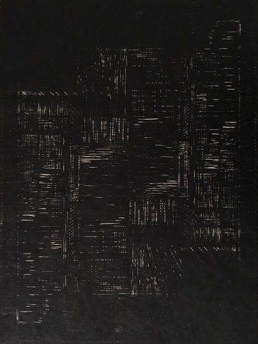 Tongji Philip Qian Recent Works in Reverse Chronological Order Woodblock print
