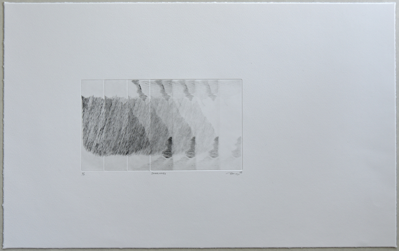 Tongji Philip Qian Recent Works in Reverse Chronological Order Etching on paper